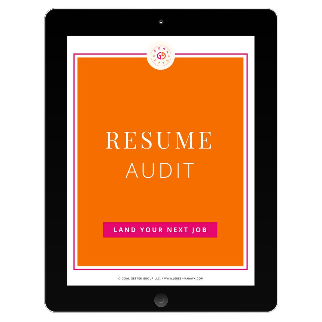 Resume Audit